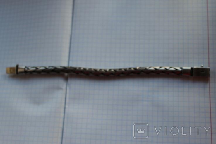 Браслет серебро 925, фото №4