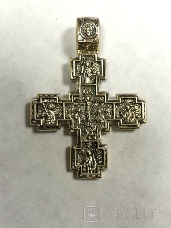 Золотой крест Никита Бесогон, фото №3