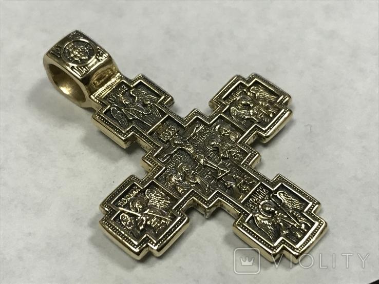 Золотой крест Никита Бесогон, фото №2