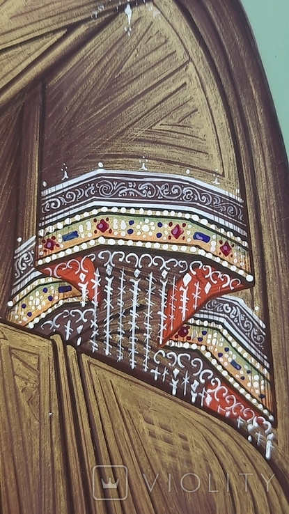 Икона Владимировская в подарочном футляре. Размер иконы 30 на 27 см, фото №7