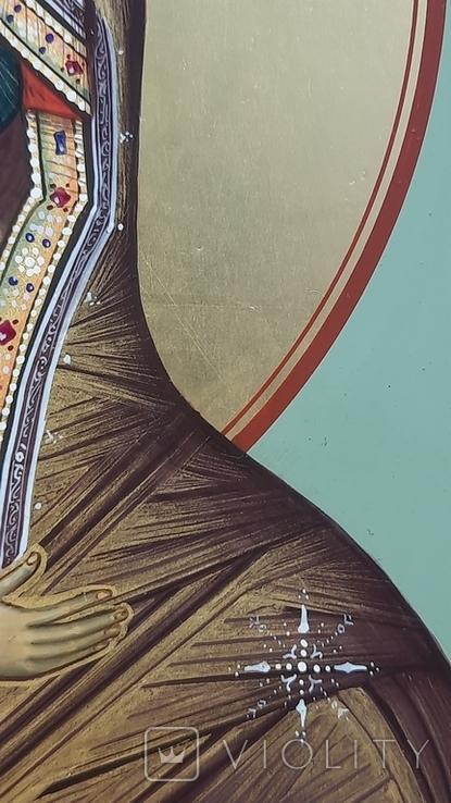 Икона Владимировская в подарочном футляре. Размер иконы 30 на 27 см, фото №8