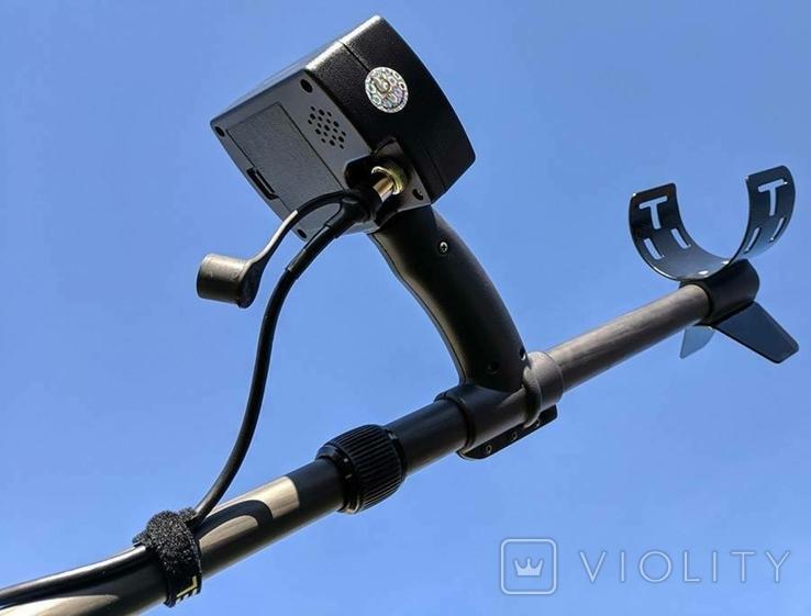 Металлоискатель Кощей X45 Carbon Pro с катушкой Mars Tiger, фото №6