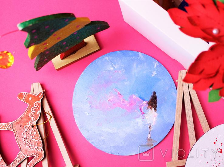 Твоя картина маслом на рабочем столе Девушка, фото №3