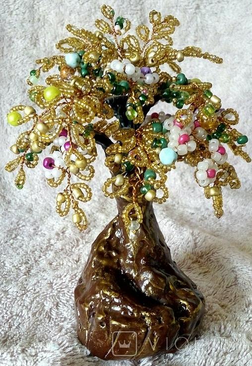 Дерево из бисера 1., фото №3