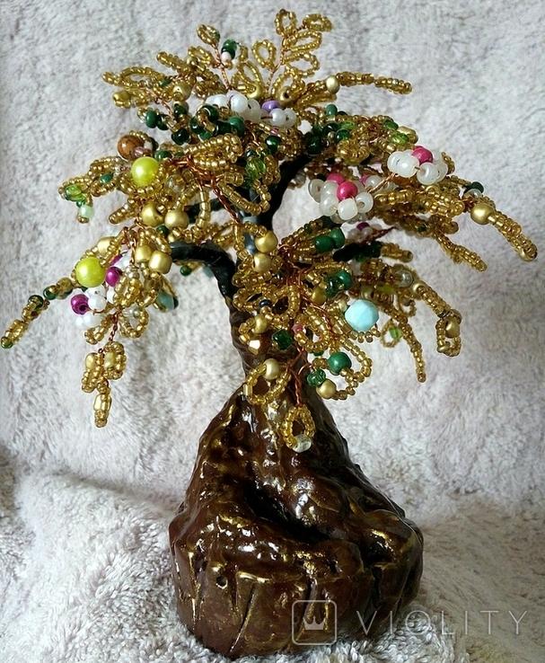 Дерево из бисера 1., фото №4