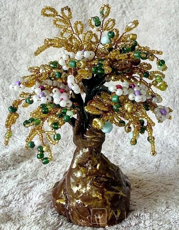 Дерево из бисера 1., фото №7