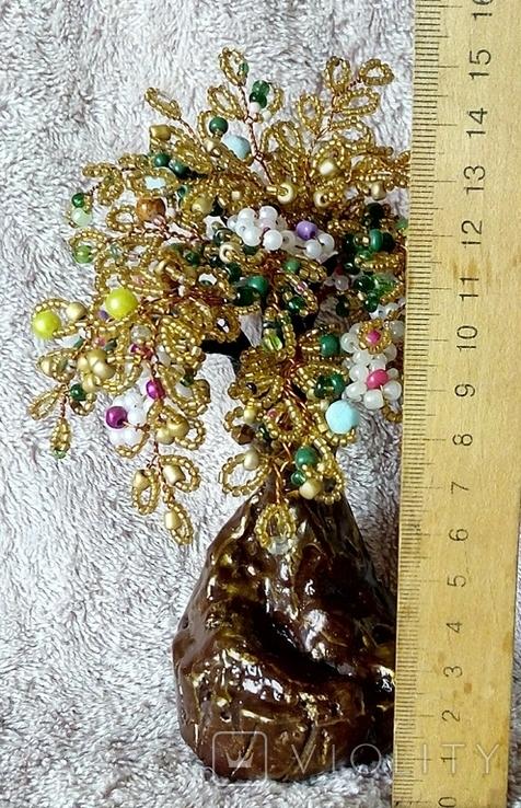 Дерево из бисера 1., фото №10
