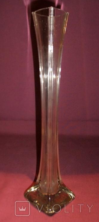 Ваза Берц - авторское стекло. Высота 40 см., фото №4