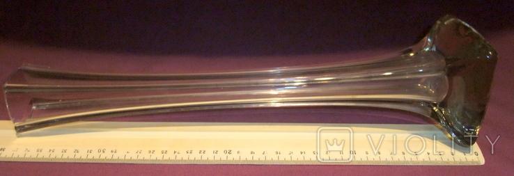 Ваза Берц - авторское стекло. Высота 40 см., фото №2