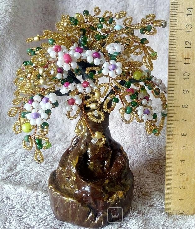 Дерево с бисера 2., фото №9