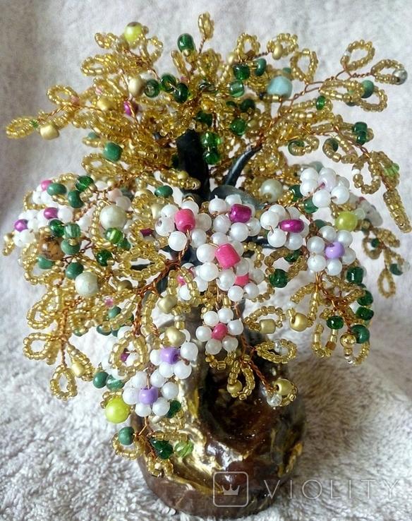 Дерево с бисера 2., фото №11