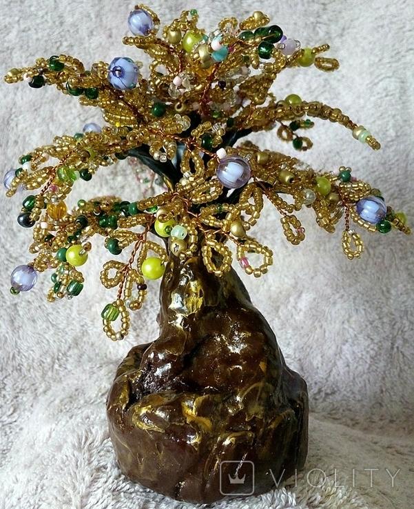 Дерево из бисера 3., фото №2