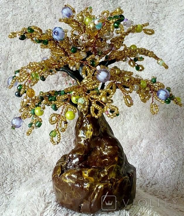 Дерево из бисера 3., фото №4