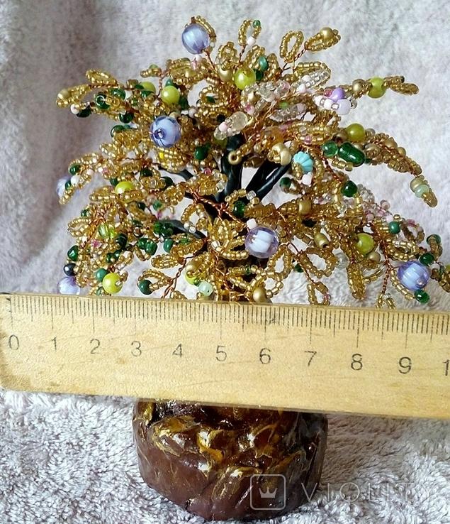 Дерево из бисера 3., фото №10