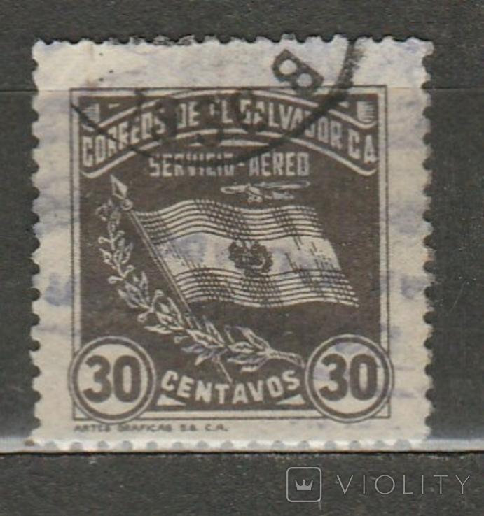 237 Сальвадор 1935 гашение 1936