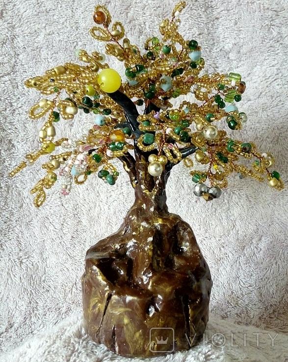 Дерево с бисера 4., фото №2