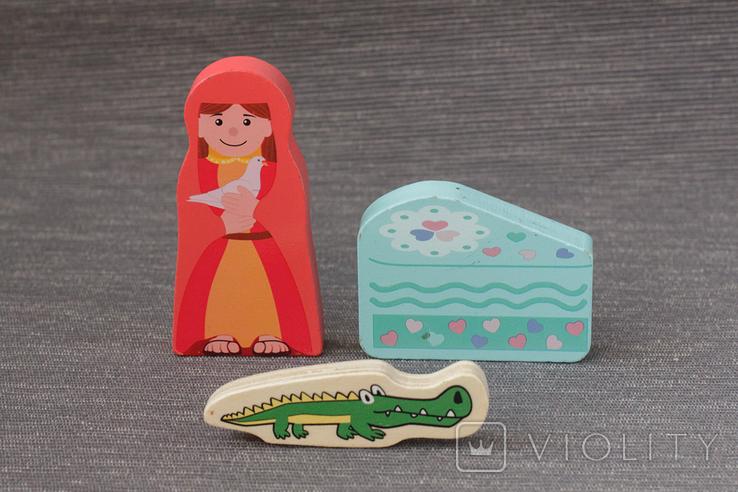 Деревянные фигурки игрушки, фото №3