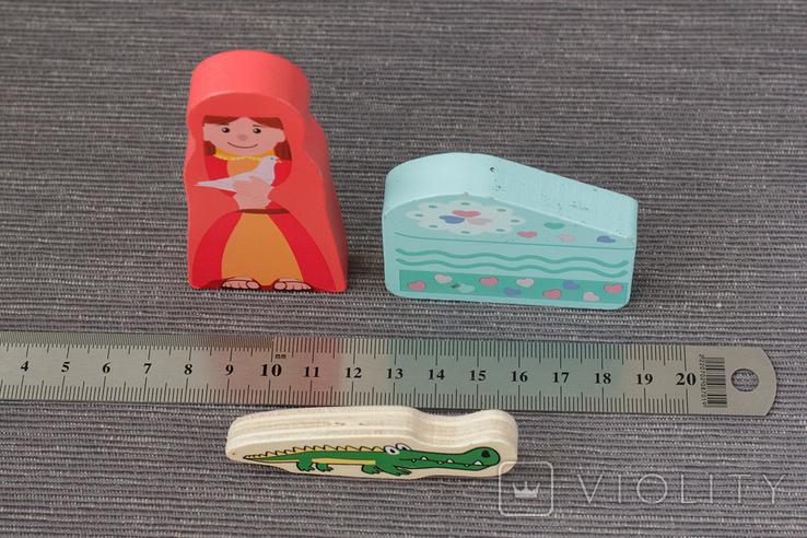 Деревянные фигурки игрушки, фото №4