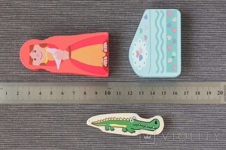 Деревянные фигурки игрушки, фото №5