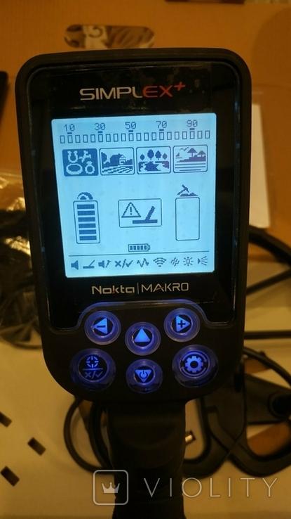 Металлоискатель Nokta Simplex + WHP + PulseDive Pointer, фото №6