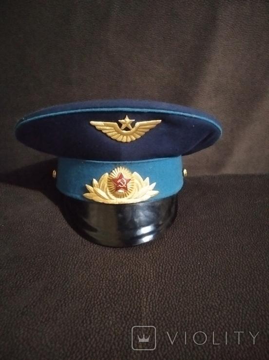 Фуражка ВВС парадная 1, фото №2