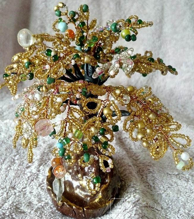 Дерево с бисера 5., фото №6