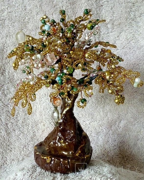 Дерево с бисера 5., фото №9