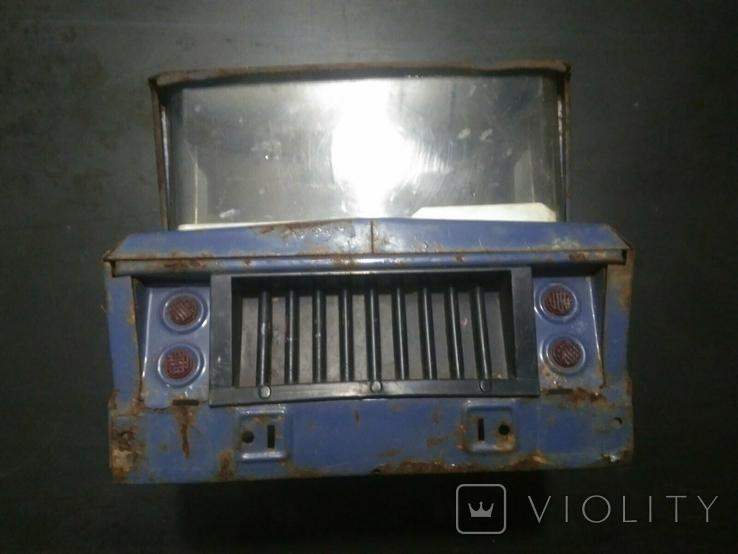 Кабина от ретро игрушки машинка грузовик СССР, логотип LADA, фото №3