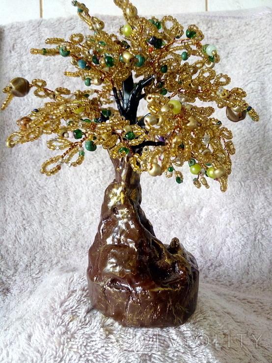 Дерево с бисера 6., фото №3
