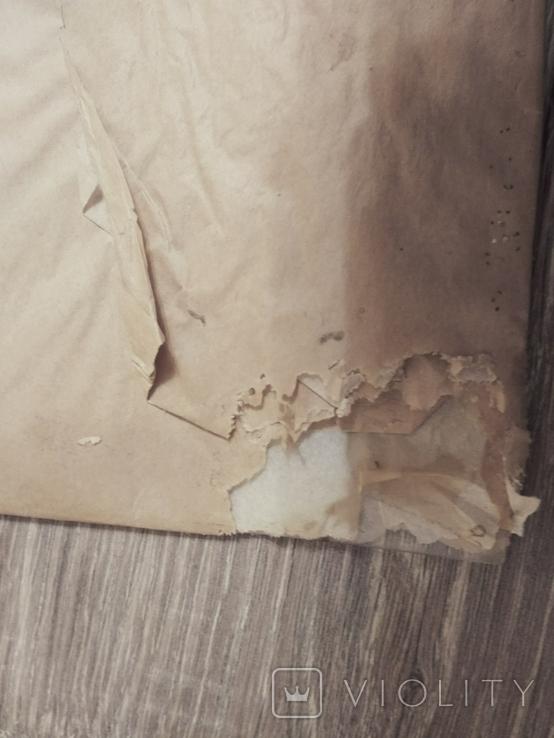 Оргстекло полностью прозрачное,лист 80х60 см.,толщина 1 мм, СССР, в оригинальной упаковке, фото №3