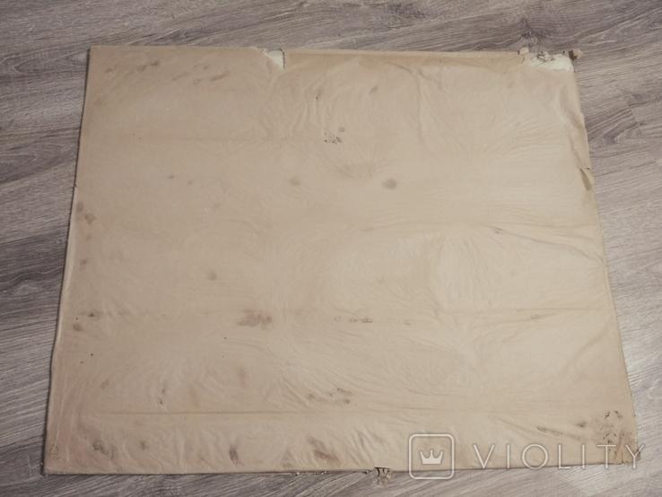 Оргстекло полностью прозрачное,лист 80х60 см.,толщина 1 мм, СССР, в оригинальной упаковке, фото №5