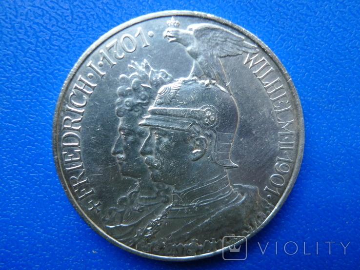 "5 марок 1901 Пруссия ""200 Лет Династии Гогенцоллернов"", фото №7"