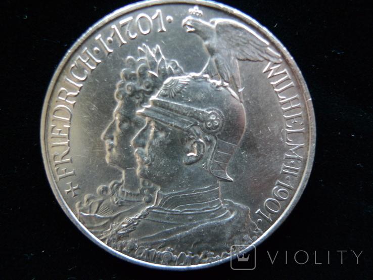 "5 марок 1901 Пруссия ""200 Лет Династии Гогенцоллернов"", фото №12"