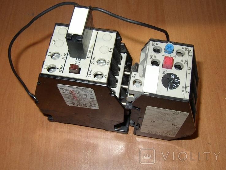 Контактор с тепловым реле Siemens, фото №2