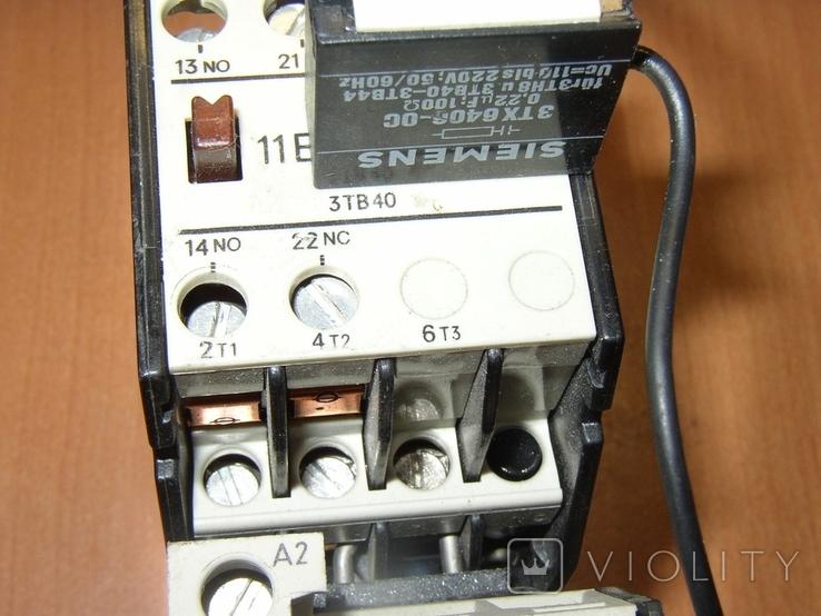 Контактор с тепловым реле Siemens, фото №6