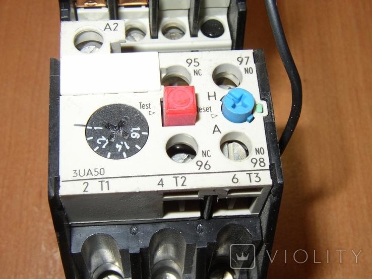 Контактор с тепловым реле Siemens, фото №7