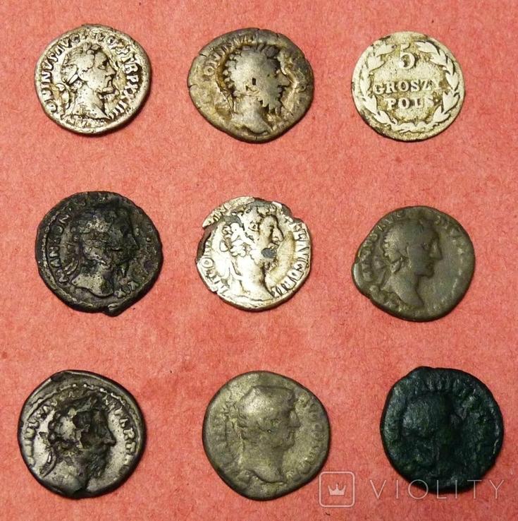Монеты 9 шт лот № 2, фото №2