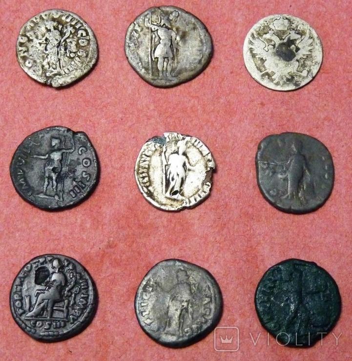 Монеты 9 шт лот № 2, фото №3