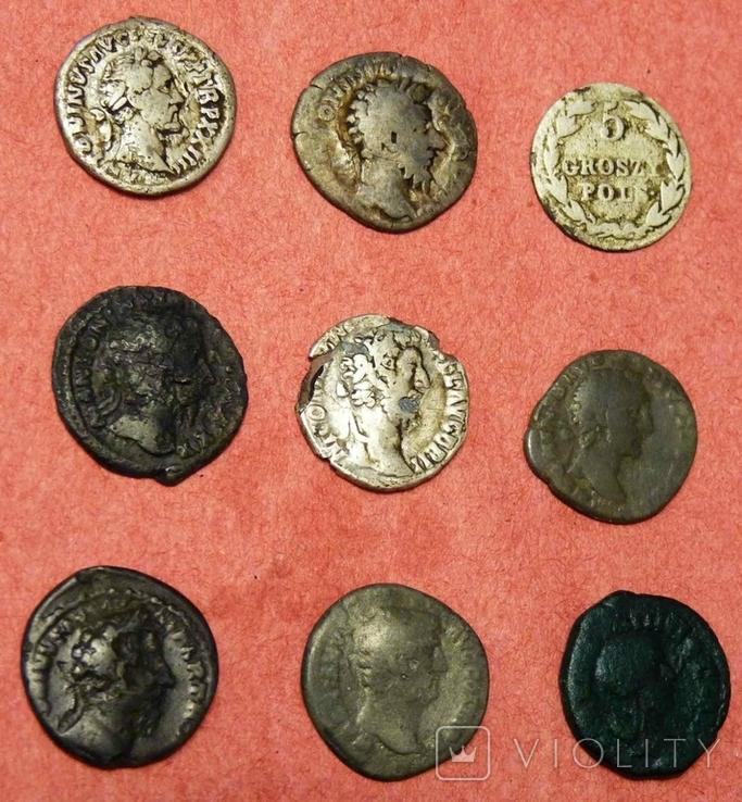 Монеты 9 шт лот № 2, фото №6