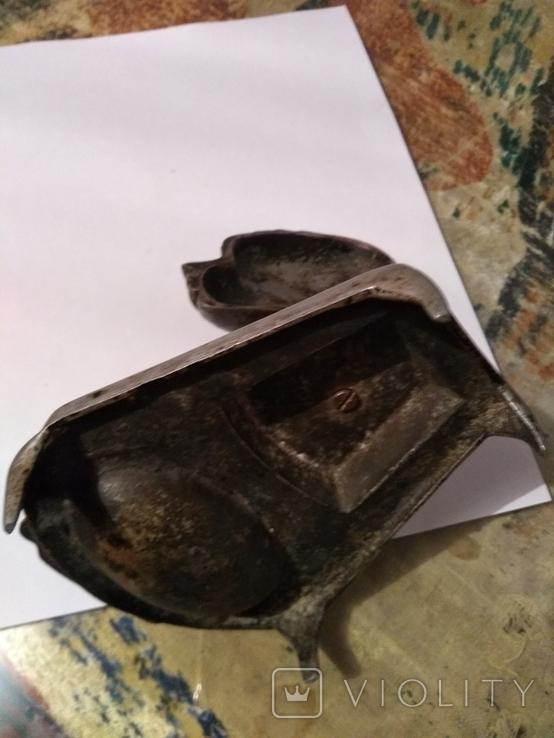 Пепильница алюминь, фото №3