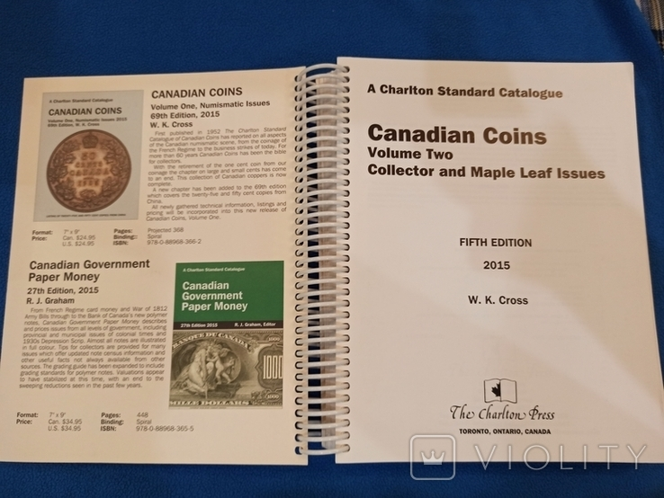 Canadian Coins Catalogue, фото №3