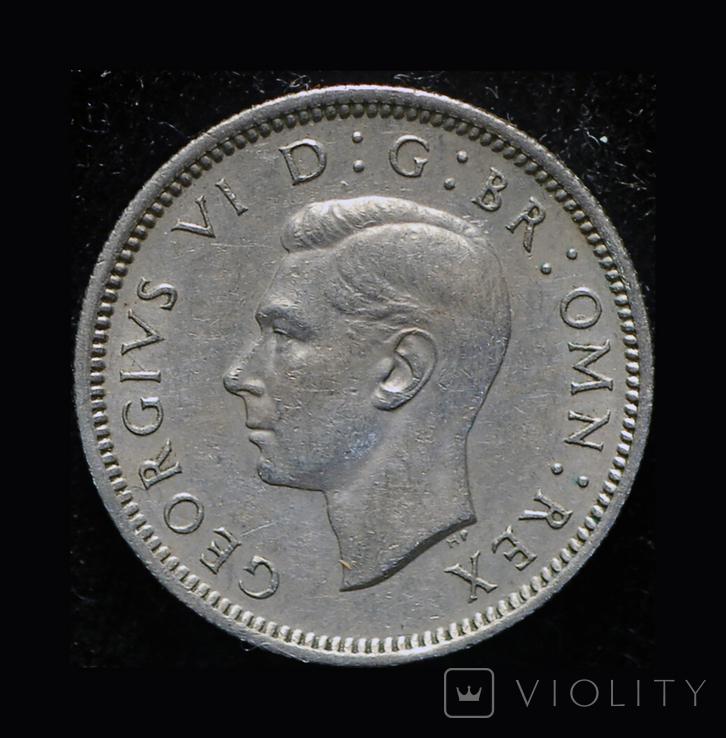 Великобритания 6 пенсов 1950, фото №2
