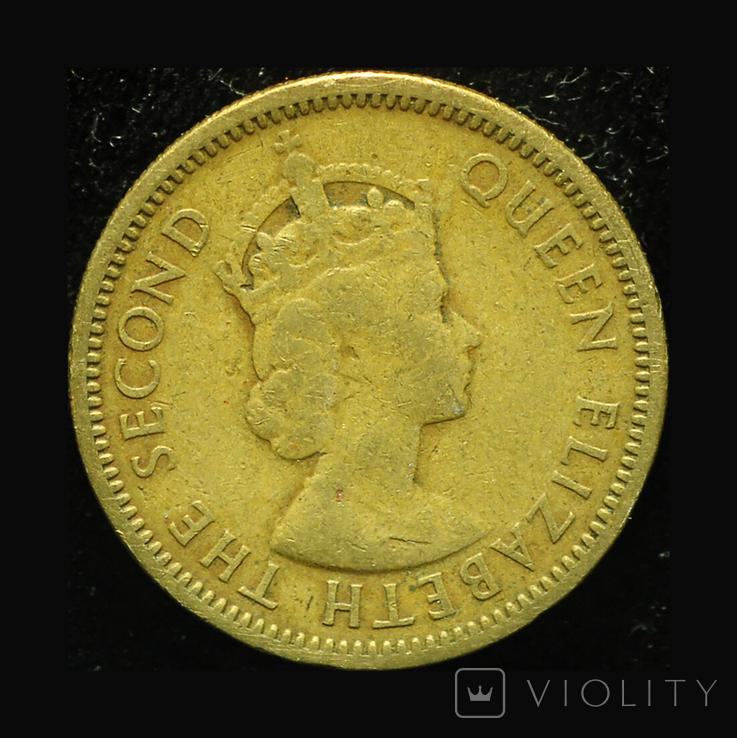 Британские Карибы 5 центов 1955, фото №3