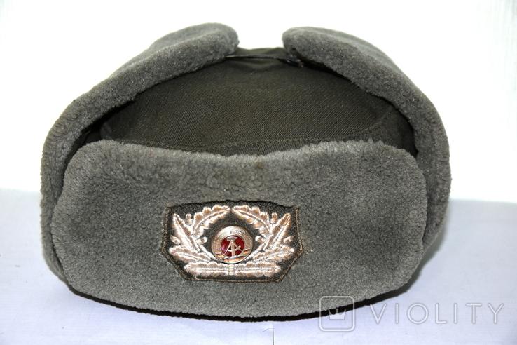 Военная шапка ГДР, фото №2