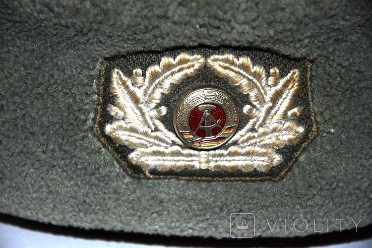 Военная шапка ГДР, фото №3