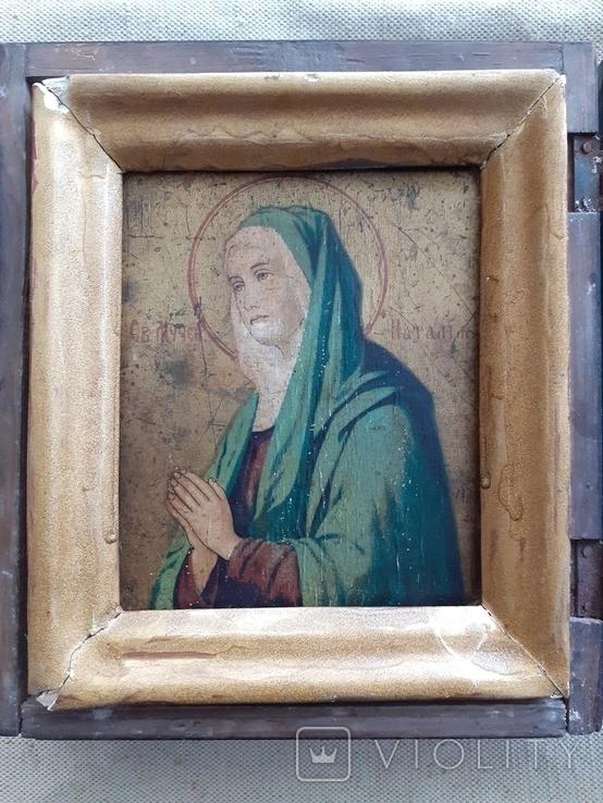 Икона Св. мученица Наталья., фото №4
