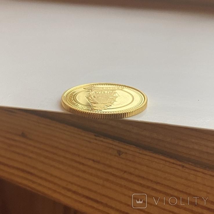 25 дол. 2008 г. Острова Питкэрн (1/4 oz. 999,9), фото №6