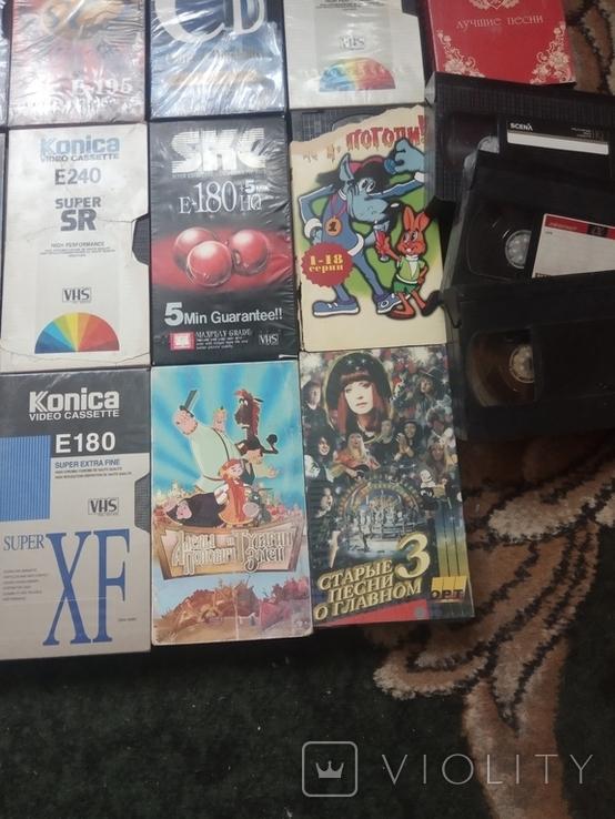 Видеокассеты (1) 25 штук, фото №7