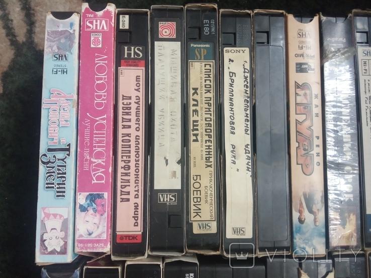 Видеокассеты (1) 25 штук, фото №11