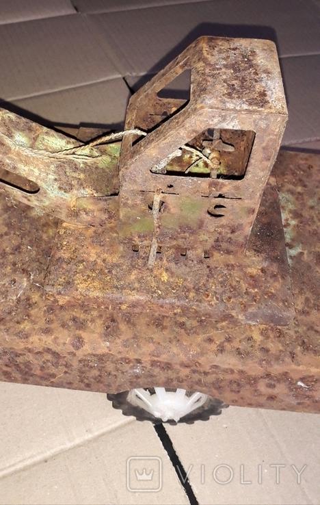 Большой кран СССР грузовик металлический, фото №8